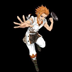 King Arthur from the seven deadly sins (nanatsu no taizai)
