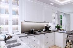 Projektant wnętrz – Bielsko, Wadowice, Katowice, Kraków Kitchen Cabinets, House, Diva, Home Decor, Design, Decoration Home, Room Decor, Kitchen Cupboards, Haus