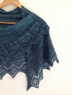 """Welcome back to """"Free Pattern Friday"""", a fresh new free pattern every week! You'll find today's pattern at the very bottom of this page. Today's project is shawl #4 in a series of four that will be offered through Free Pattern Friday. Based on the feedback I've been getting, knitters love shawls! They're pretty, useful, easy to fit, and use (relatively)... Read More"""
