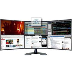 We have a Multi-Monitor Solution for any need. Buy Multitasking Tools and Trading Computers for Forex and Stock Market Day Traders. Multi-Screen Systems and Information Technology. Computer Desk Setup, Computer Build, Trading Desk, Build A Pc, Work Station Desk, Monitor Stand, Pc Setup, Diy Electronics, Computer Technology