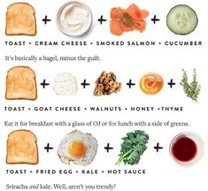 image Wine Quotes, Smoked Salmon, Goat Cheese, Hot Sauce, Deli, Bagel, Cucumber, Meal Prep, I Am Awesome