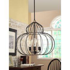 Renate Mushroom Chandelier Ceiling Fixture Light Lighting Antique Iron Lamp Deco