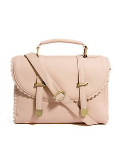 ASOS | ASOS Scallop Detail Satchel Bag at ASOS