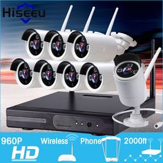 CCTV System 960P 8ch HD Wireless NVR kit Outdoor IR Night Vision IP Camera wifi  Camera kit Home Security System Surveillance #CLICK! #clothing, #shoes, #jewelry, #women, #men, #hats