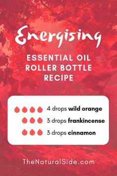 Searching for easy ways to use essential oils? In this post, you will find 15 beginners inspired essential oil roller bottle recipes which is one of the easiest ways to start using essential oils. Essential Oils Energy, Oils For Energy, Essential Oils For Colds, Essential Oils Guide, Cinnamon Essential Oil, Essential Oil Diffuser Blends, Essential Oil Uses, Wild Orange Essential Oil, Homemade Essential Oils