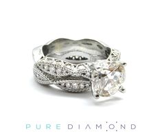 Have your heart skip a beat with a wonderful white gold engagement ring. Whether you're looking for simple or a twisted engagement ring, PureDiamond.ca is happy to help you find the perfect diamond ring. Ranging from princess cut, square, cushion to round, we've got you covered. You will find our friendly service unparalleled. Whether you're living in Vancouver, Coquitlam, Richmond, North Vancouver, Surrey or Burnaby, please feel free to call us at (604) 563-9875 and book an appointment.