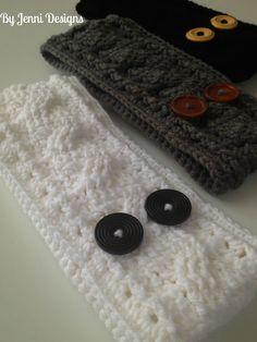 Free Crochet Pattern: Women's Cable Earwarmer Headband