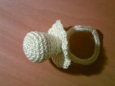 Como hacer un chupete a ganchillo o crochet en español paso a paso