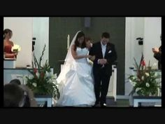 """http://www.NaplesOriginalVideo.com ~ North Naples United Methodist Wedding Highlights   It was so much fun to share the excitement with Kristy and Dave during their Wedding at the North Naples United Methodist Church. The looks they shared with each other certainly said """"I Love You"""". After they exchanged their vows and made their walk down the isle as Husband and Wife, they joined their family and friends at the Hyatt Regency Coconut Point Resort in Bonita Springs, Florida"""