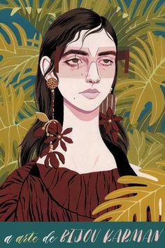 A arte de Bijou Karman