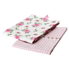 "IKEA EVALILL Dish towel, rose $4.99 / 2 pack Product dimensions Length: 28 "" Width: 20 "" Package quantity: 2 pack Length: 70 cm Width: 50 cm Package quantity: 2 pack-I think I'm due for another ikea excursion..."