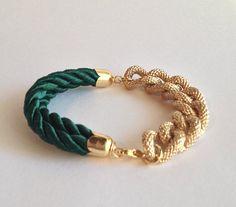 WCPY Lux Stardust Bracelet  Emerald Green  arm party  by WCPY, $12.00