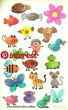 Greatest Projects for Kids Get creative with one of these adorable as well as super easy inspired crafts for kids! Toddler Crafts, Preschool Crafts, Crafts For Kids, Arts And Crafts, Paper Crafts, Kids Diy, Preschool Themes, Baby Crafts, Fingerprint Heart