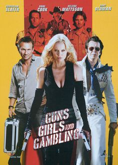 Directed by Michael Winnick.  With Christian Slater, Powers Boothe, Dane Cook, Jeff Fahey. This story throws Elvis impersonators, Native Americans, a cowboy, a drop dead beautiful blond assassin, a frat boy, two corrupt sheriffs, the girl next door and a prostitute into a chase for a million dollar Native American artifact stolen during a poker game at a casino.