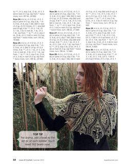 """"""" MOSSITA BELLA PATRONES Y GRÁFICOS CROCHET """": Chal / shawl pattern"""