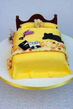Teenage bed cake  - Cake by Bronte Bakes