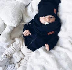 Happy Friday ____________________________ Pants from Beanie and scarf from Boys Baby Fashion Cute Baby Boy Outfits, Little Boy Outfits, Cute Baby Clothes, Newborn Fashion, Baby Boy Fashion, Fashion Kids, Cute Little Baby, Baby Kind, Cute Babies
