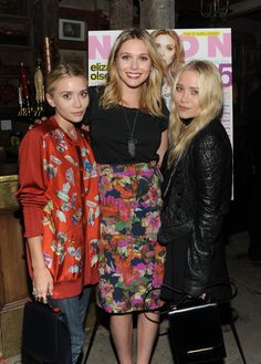 If you like oversized black clothing, not using a hairbrush, and sing a longs, your celebrity sibling crew is the Olsens!