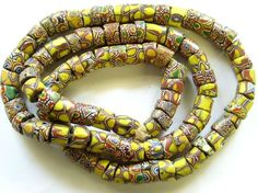 Old Special Millefiori Trade Beads African Tribes, African Trade Beads, Pink Elephant, Tribal Jewelry, Antique Jewelry, Glass Beads, Special Interest, Fancy, Marbles