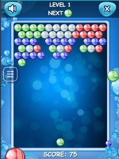 Das erste bubble Spiel in HD jetzt auf Spieleteddy.de