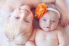 Adorable sibling photo!