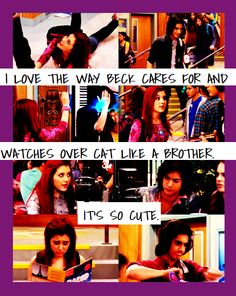Big brother, little sister. Feeling Sad, How Are You Feeling, Icarly And Victorious, Sam And Cat, Cat Valentine, Tv Quotes, Little Sisters, Picture Quotes, Confessions