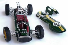 The Great Canadian Model Builders Web Page!: Lotus 25 Formula One Racer