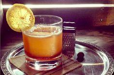 Thirsty Thursday: A Brilliant Bourbon #CocktailRecipe - Foodista.com #Bourboncocktail