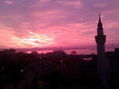 Stambul, stunning sunrise