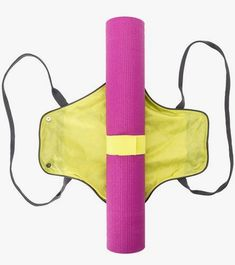 http://www.yogaoutlet.com/p/gaiam-on-the-go-yoga-mat-carrier-8122197/?color=4515Gaiam On-The-Go Yoga Mat Carrier at YogaOutlet.com I feel like you could make this yourself...