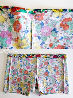 Step 4 - Boxer Pajama Shorts (with free pattern) - MellySews