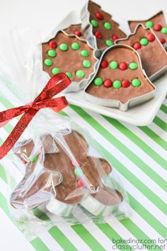 Cookie Cutter Fudge that is just delicious! Its the perfect treat for the Christmas Holiday!! Click above for the recipe