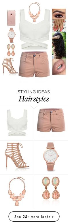 """""""Untitled #3903"""" by sigalv on Polyvore featuring Larsson & Jennings, Incase, Kendra Scott, Gianvito Rossi and LE VIAN"""