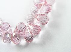 20 Mystic Topaz Faceted Briolette Beads 4.5 - 6.5 mm. :gs8071 on Etsy, $10.99