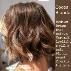 Cocoa blonde