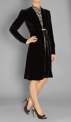 Libelula Dulwich Coat Velvet   Austique