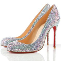 0b0177e8885 his  louboutin white patent studded loafers. hers  matching white louboutin  pigalles.