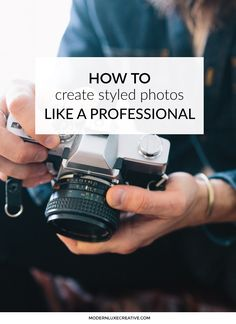 How to Create Styled Photos Like a Professional