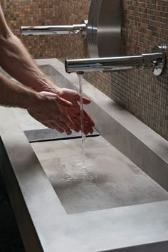 #microtopping washbowl & #bisazza mosaic http://www.idealwork.com/Micro-Topping-Features-and-benefits.html