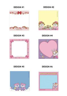 Journal Pages Printable, Printable Planner, Flower Rose Images, Folders, Memo Notepad, Note Memo, Washi, Korean Stationery, Cute Planner
