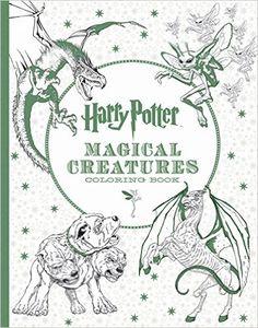 Harry Potter Magical Creatures Coloring Book Amazonde Inc Scholastic