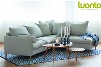 CHIC 2 SEATER CORNER Sofa Bed by Luonto