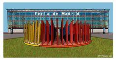 Madrid, Arch, Illustrations