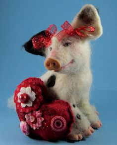 pictures i have taken crafts i have madeand more pinterest valentine box valentines and boxes - Valentine Pig