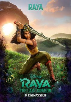 RAYA AND THE LAST DRAGON (2021) - Trailers, Featurettes, Images and Posters