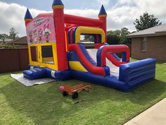 Our LOL Surprise Mega Combo Jumping Castle, your baby girl will truly be surprised on how big and awesome this jumping castle is.   Hire from us today and make your party exra special. <3  #jumpingcastlehire #bouncingcastle #partyhiresydney #funtimepartyhire