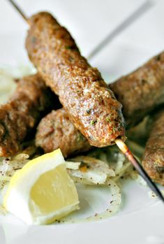 Kabab (Kebabs or Middle Eastern Skewers)