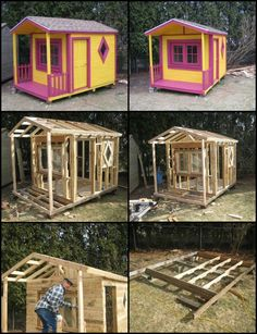 Do your kids want a playhouse? Make one using reclaimed pallets!  http://diyprojects.ideas2live4.com/ieo5