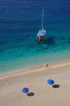 Kaputaş Beach in Kaş, Antalya, Türkiye, Turkey