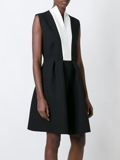 MSGM flared sleeveless dress